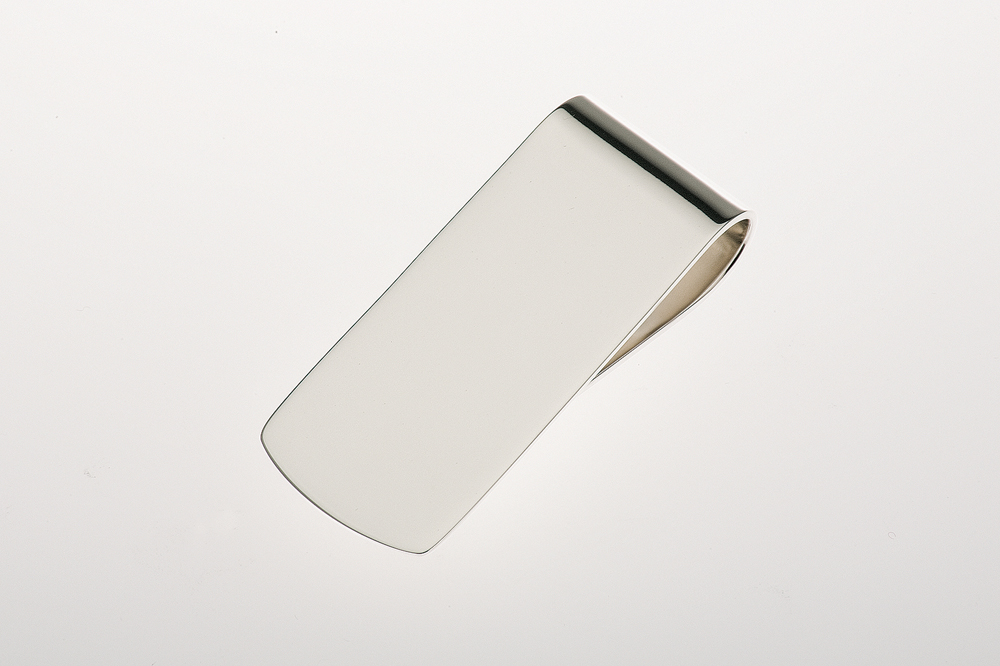 Money Clip plain - Sterling silver