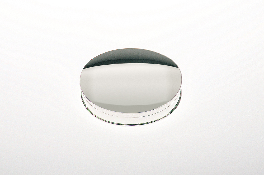 Pillbox oval / plain - Sterling silver