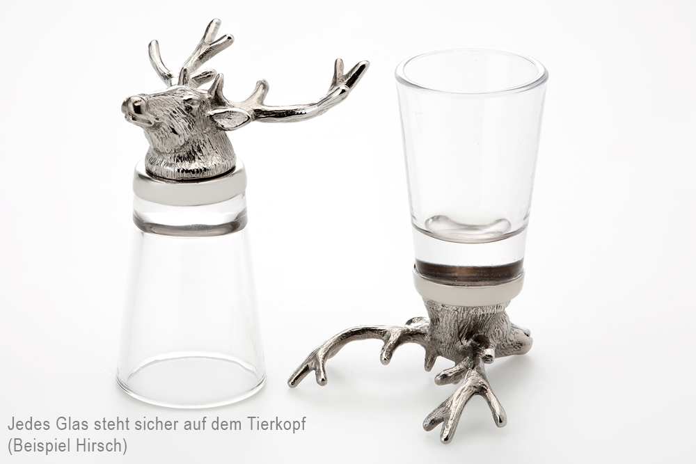 Shot Glass Horse - Stainless Steel