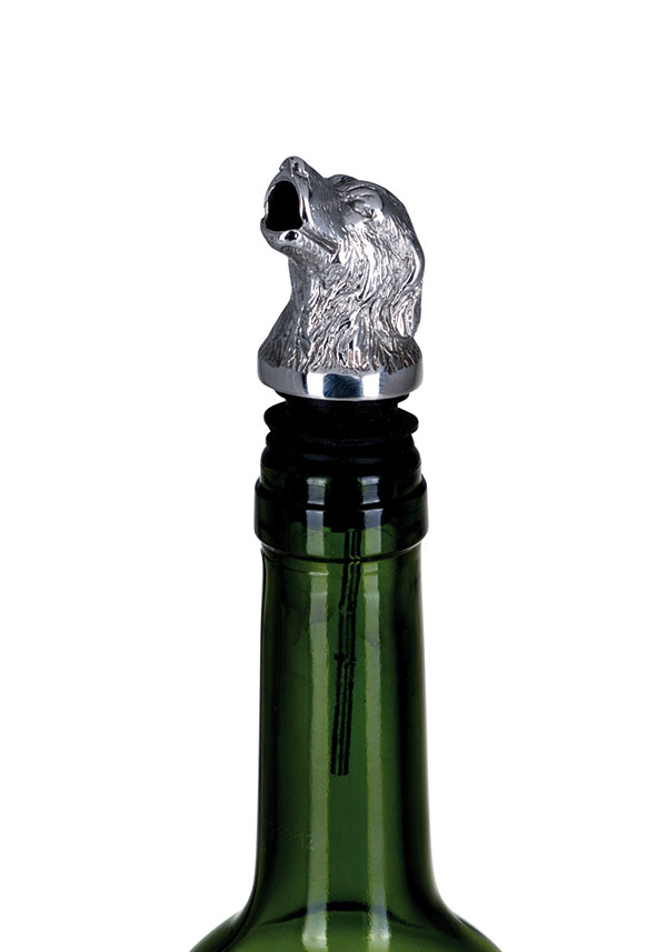 Decanting Pourer Hunting Dog - Stainless Steel
