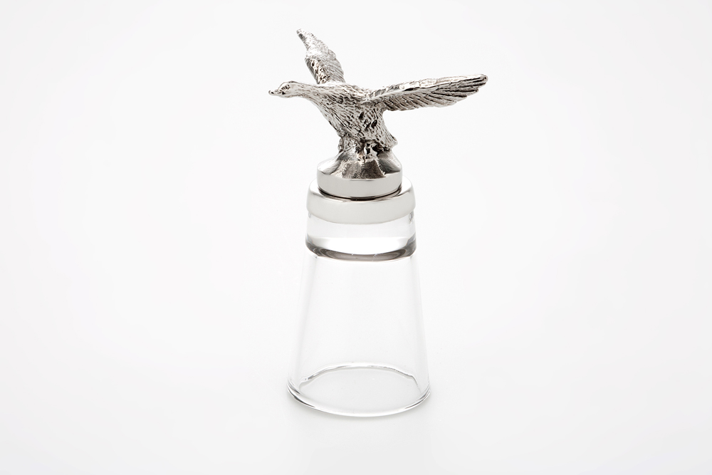 Shot Glass Duck - Stainless Steel