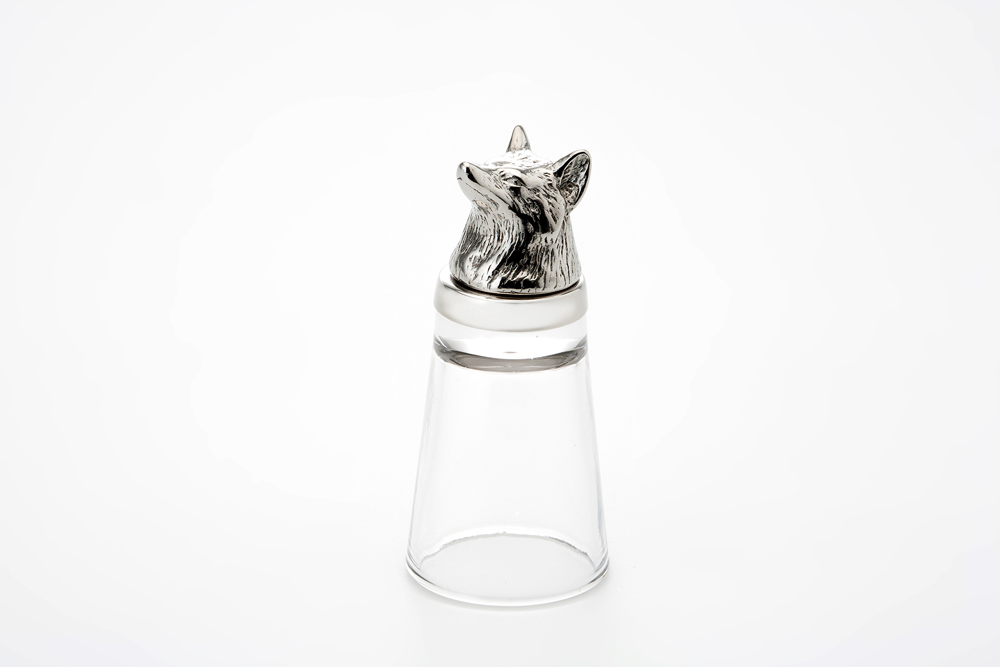Shot Glass Fox - Stainless Steel