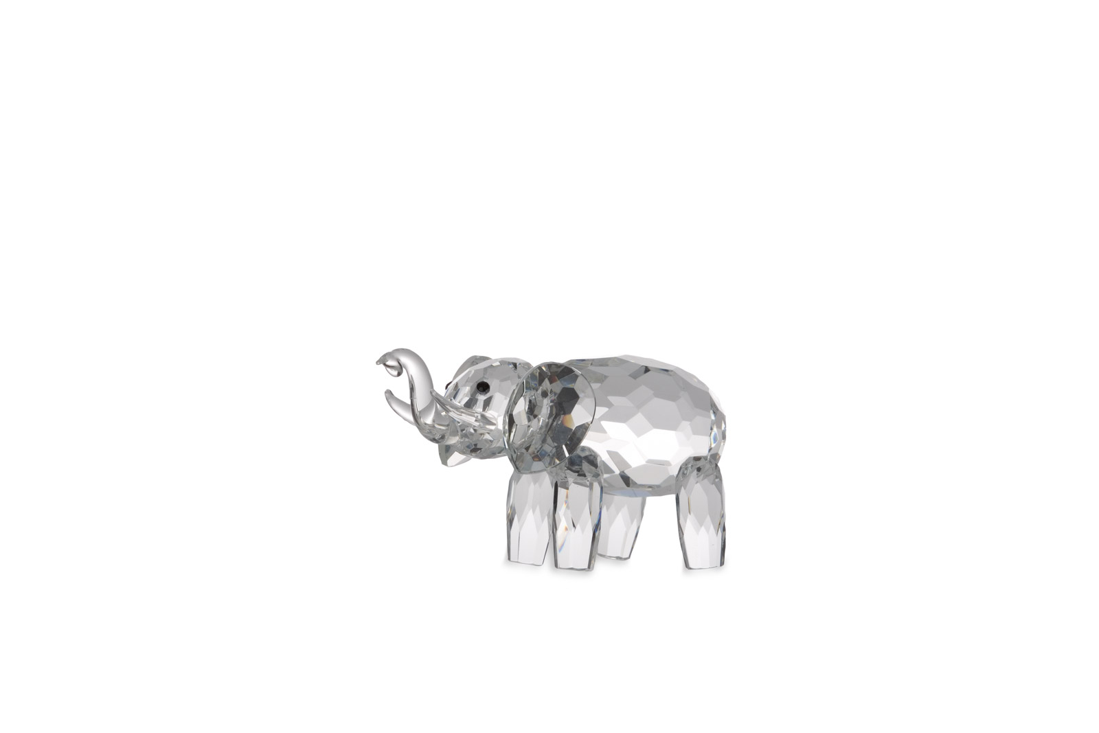 Glass statue Elephant