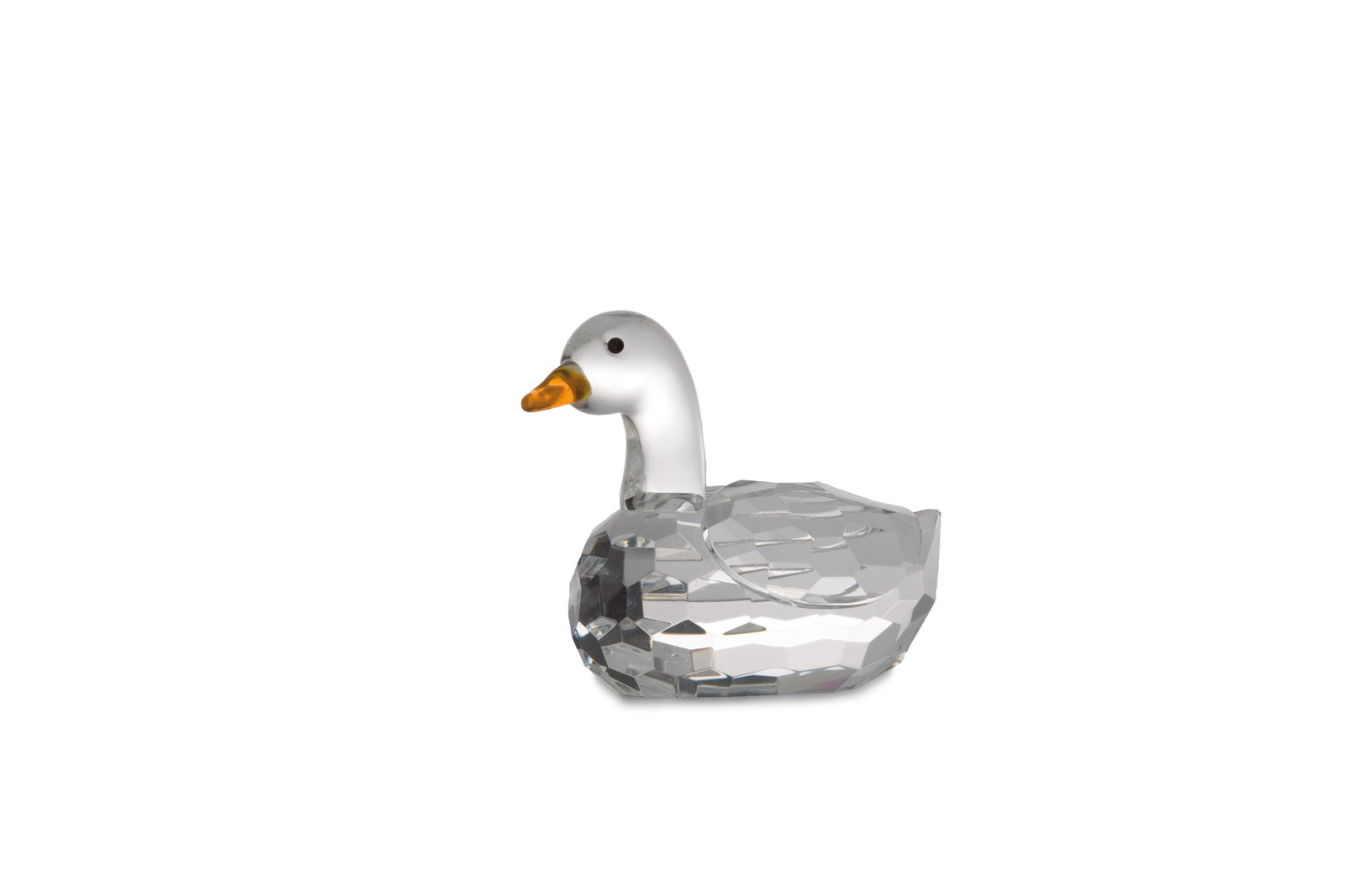 Glass statue Duck