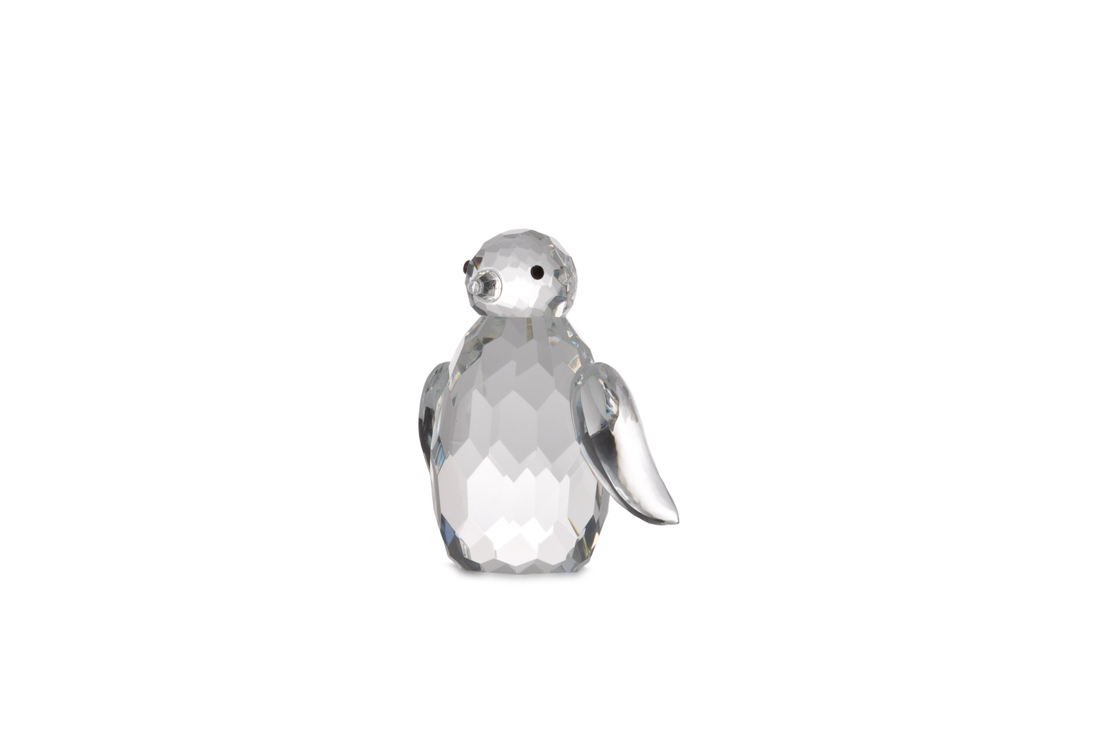 "Glasfigur in Geschenkbox ""Pinguin"""