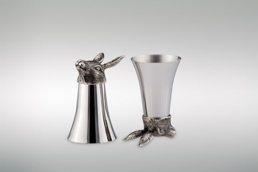 Wine Cup 1/8 Liter Rabbit - Stainless Steel
