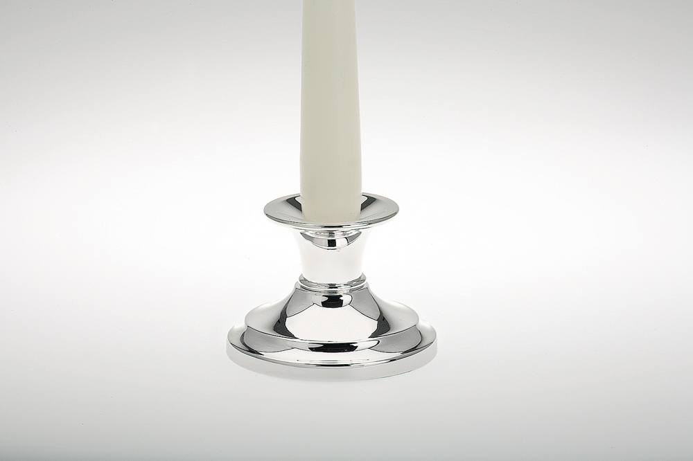 Candle Stick plain, round base