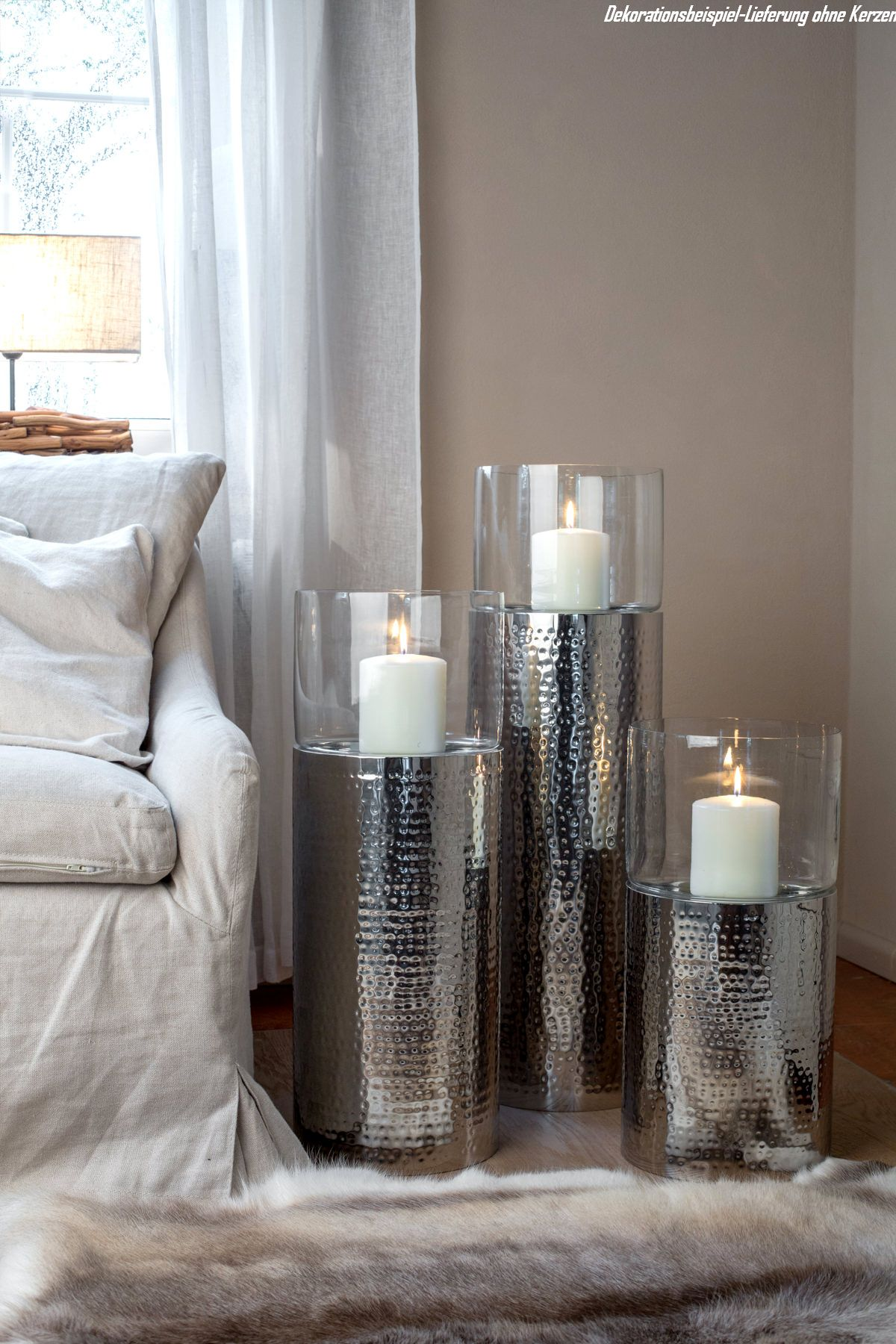 Lantern / Candle Stick Set 3 pieces