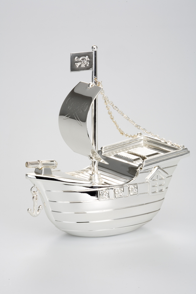 Money Bank Pirate Ship