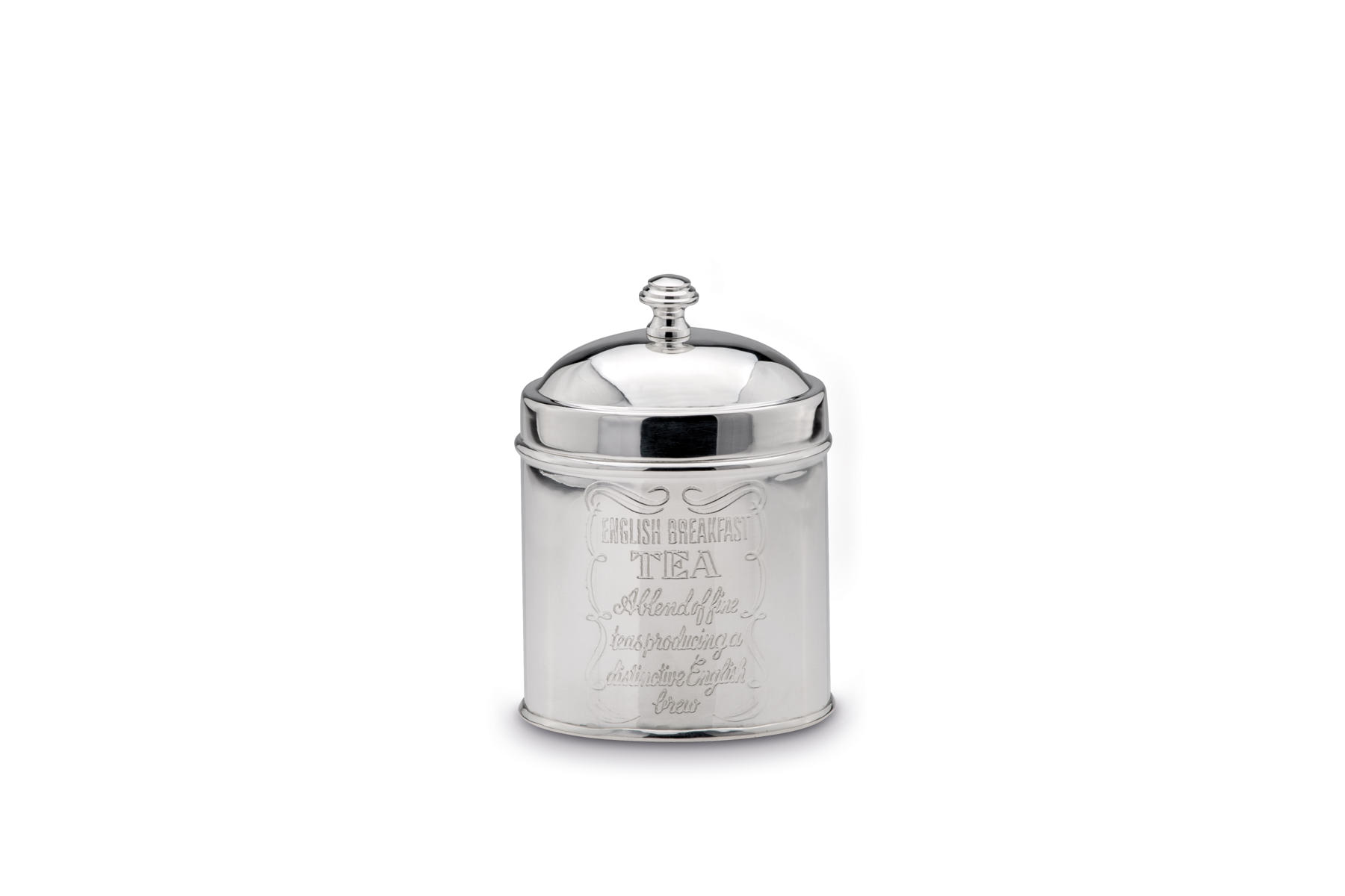 Tea Caddy oval