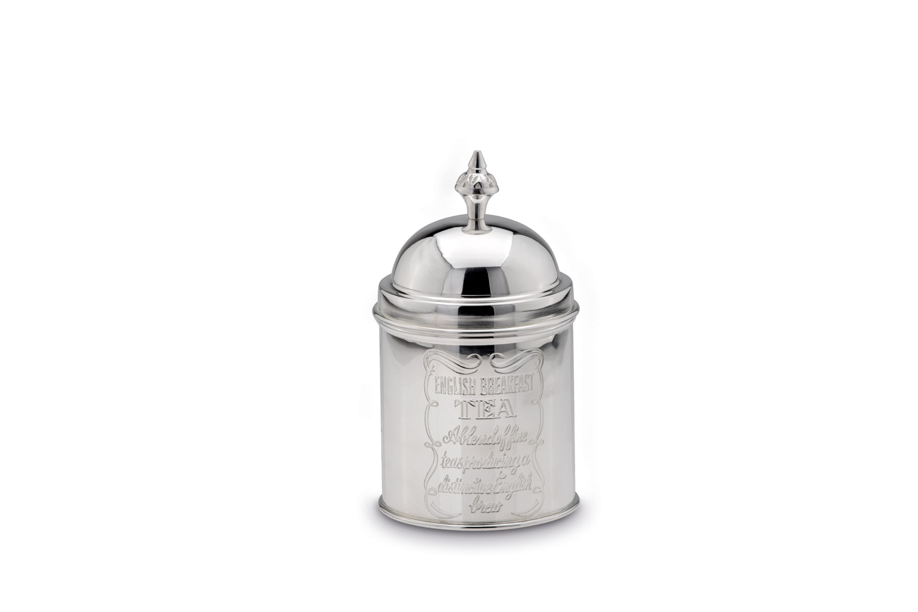 Tea Caddy round