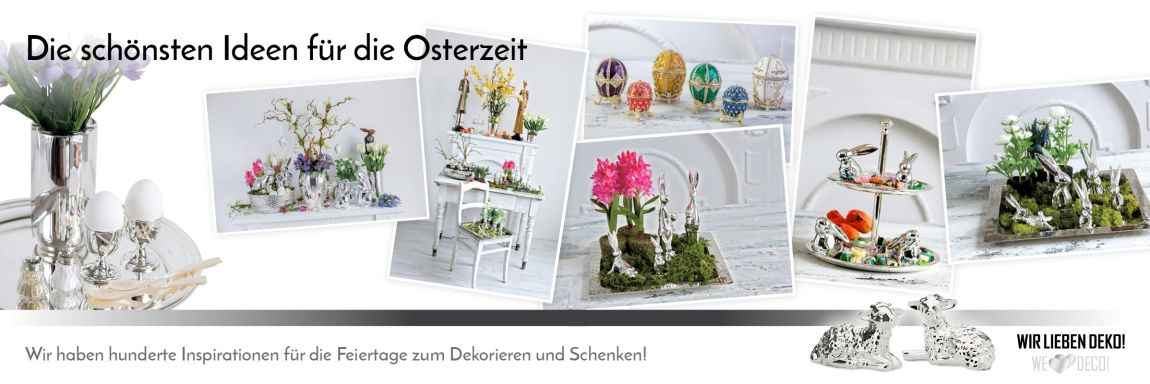 silber dekoartikel g nstig kaufen im online shop wirliebendeko. Black Bedroom Furniture Sets. Home Design Ideas